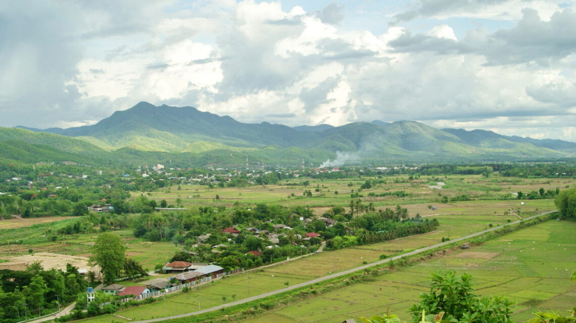 mae sariang city view