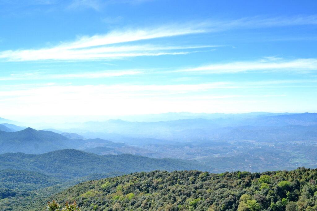 panoramic views doi inthanon